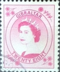 Stamps : Europe : Gibraltar :  Intercambio jxa 1,00 usd 28 p. 1999