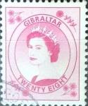 Stamps : Europe : Gibraltar :  Intercambio jxa 1,00 usd 28 p. 1999