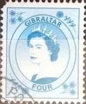 Stamps : Europe : Gibraltar :  Intercambio jxa 0,20 usd 4 p. 1999