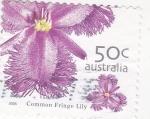 Sellos de Oceania - Australia -  flores