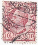 Stamps Italy -  personaje