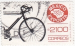 Stamps Mexico -  México exporta bicicletas