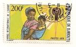Sellos del Mundo : Africa : Djibouti : Año Internacional del niño.