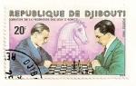 Stamps Africa - Djibouti -  Creacion de la federacion del juego de ajedrez.
