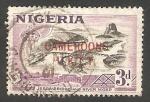 Stamps : Africa : Cameroon :  5 - Puente sobre el río Niger