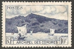 Stamps : Africa : Comoros :  1 - Bahia de Anjouan