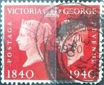 Sellos de Europa - Reino Unido -  Intercambio 0,40 usd 1 p. 1940