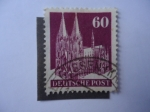 Stamps Germany -  Catedral de Colonia.