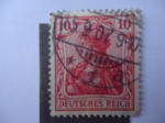 Stamps Germany -  Anna Fuhring - Germania - Alemania Imperio.Deutsches Reich