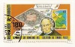 Stamps Africa - Djibouti -  Sir Rowland Hill, creador del sello postal.