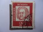 Sellos de Europa - Alemania -  Johann Sebastian Bach.