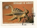 Stamps Africa - Djibouti -  Conchas marinas.