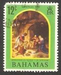 Stamps : America : Bahamas :  Navidad