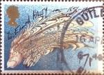 Sellos de Europa - Reino Unido -  Intercambio 0,40 usd 17 p. 1986
