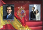 Stamps Spain -  Felipe VI Rey de España