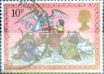 Sellos de Europa - Reino Unido -  Intercambio 0,25 usd 10 p. 1979