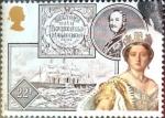 Sellos de Europa - Reino Unido -  Intercambio 0,60 usd 22 p. 1987
