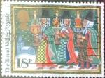 Sellos de Europa - Reino Unido -  Intercambio 0,45 usd 18 p. 1986