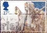Stamps United Kingdom -  Intercambio cr5f 0,35 usd 17 p. 1984