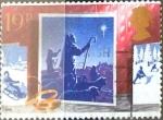 Stamps United Kingdom -  Intercambio 0,45 usd 19 p. 1988