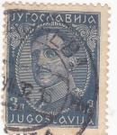 Sellos de Europa - Yugoslavia -  Rey Alexander
