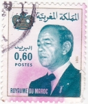 Stamps : Africa : Morocco :  Rey Hassan II