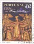 Sellos de Europa - Portugal -  500 años de misericordias