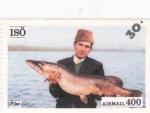 Stamps Sweden -  pesca en Isö