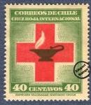 Sellos de America - Chile -  80º Aniversario de la Cruz Roja Internacional