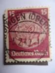 Stamps Germany -  Von Hindenburg.