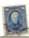 Stamps Argentina -  90c Saavedra