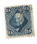 Stamps Argentina -  24C. San martin
