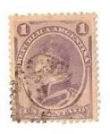 Stamps Argentina -  1c. Balcarce