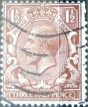 Stamps : Europe : United_Kingdom :  1,5 p. 1924