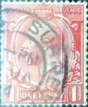 Sellos de Europa - Reino Unido -  Intercambio 1,10 usd 1 p. 1924