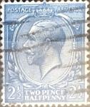 Sellos de Europa - Reino Unido -  Intercambio 3,50 usd 2,5 p. 1924