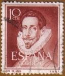 Stamps Spain -  LITERATOS - Lope de Vega