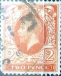 Stamps United Kingdom -  Intercambio 0,85 usd 2 p. 1935