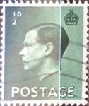 Stamps United Kingdom -  Intercambio 0,35 usd 1/2 p. 1936