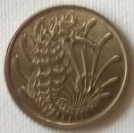 monedas de Asia - Singapur -  1976 (Anverso)