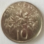 monedas de Asia - Singapur -  1986 (Reverso)
