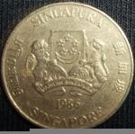 monedas de Asia - Singapur -  1986 (Anverso)