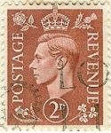 Stamps United Kingdom -  Jorge VI