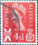 Stamps : Europe : United_Kingdom :  Intercambio 0,20 usd 4 p. 1969