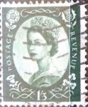 Stamps : Europe : United_Kingdom :  Intercambio 3,75 usd 1 sh. 3 p. 1953