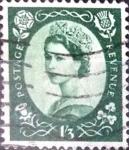 Stamps : Europe : United_Kingdom :  Intercambio 3,75 usd 1 sh. 3 p. 1953