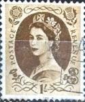 Stamps : Europe : United_Kingdom :  Intercambio 0,55 usd 1 sh. 1953