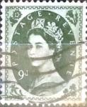 Stamps : Europe : United_Kingdom :  Intercambio 5,50 usd 9 p. 1952