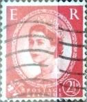 Sellos de Europa - Reino Unido -  Intercambio 1,40 usd 2,5 p. 1953