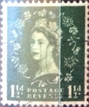 Stamps United Kingdom -  Intercambio 0,20 usd 1,5 p. 1952